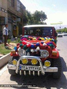 پکیج استثنایی تصاویر ماشین عروس